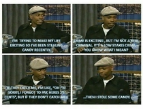 Dave Chappelle on stealing candy