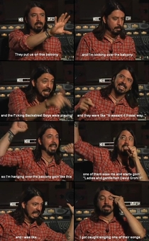 Dave Grohl is the man