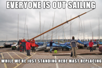 Day of sailing ruined