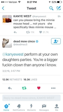 Deadmau Bringing Kanye Down a Notch