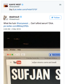 deadmau calls out Kanye West on pirating  worth of music software