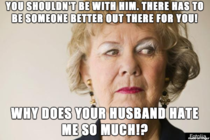Dealing with this shit for over  years Scumbag mother-in-law