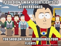 Dear United Airlines