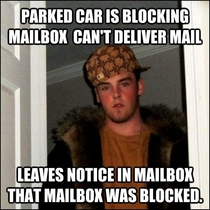 Dear USPS if you have time to leave me a note you have time to deliver my mail