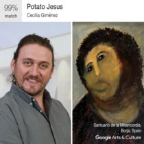Decided to give the new Google Arts and Culture paintingselfie app a try