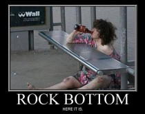 Definition of Rock Bottom