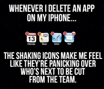 Deleting apps
