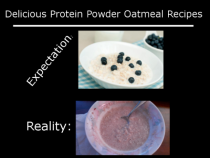 Delicious Oatmeal with Protein Powder
