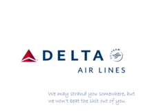 Delta is changing their slogan