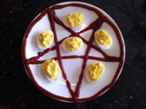 deviled eggs am I doing it right