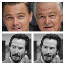 DiCaprio against the FaceApp and Keanu Reeves AGAINST THE FACEAPP