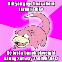 Did you guys hear about Jared Fogle