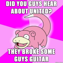Did you guys hear about what United did