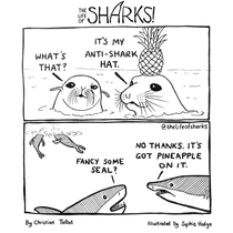 Didnt realize sharks are as picky as humans