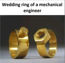 Different choice of wedding ring