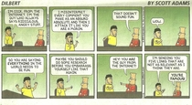 Dilbert was pretty relevant this week