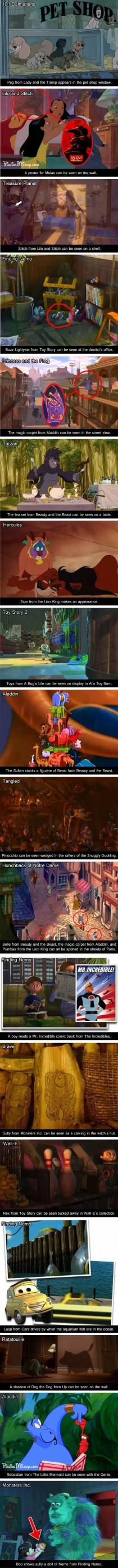 Disney Movies Inside Other Disney Movies