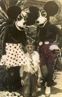 Disney used to be a scary place