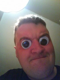 Does anybody not do this when they find googly eyes