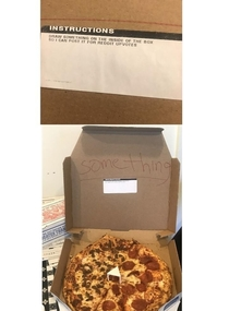 Dominoes delivery instructions for the win
