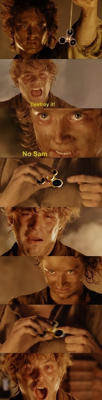 Dont do that Frodo