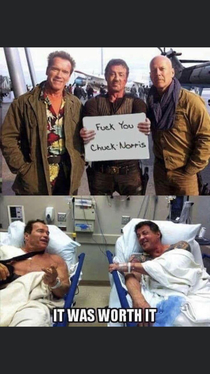 Dont F with Chuck Norris