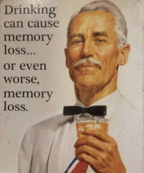 Dont forget it can cause memory loss