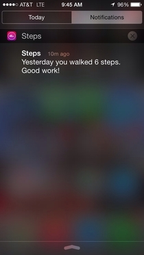 Dont judge me pedometer app I dont like your attitude