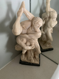 Dont know what to call this but I want this statue Found it in a clients bathroom