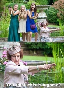 Dont mess with granny