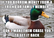 Dont ruin your relationships over money