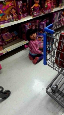 Dora The Explorer caught red handed playing with herself in public