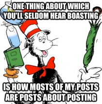 Dr Seuss for karma whores