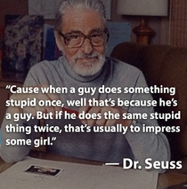 Dr Seuss knows all