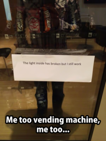 Drakes Vending machine