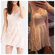 Dress vs dressing that could cover a wound