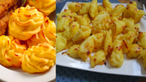 Duchesse potatoes vs what I ended up making