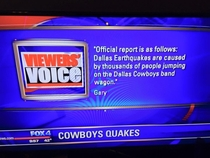 Earthquakes in Dallas TX Gary knows whats up
