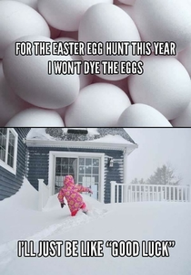 Easter for the North East this year