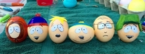 Egg decorating got a little out of hand