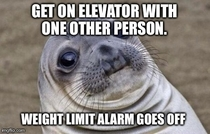 Elevators at work have been acting up - stopping at floors and not moving doors not opening and then