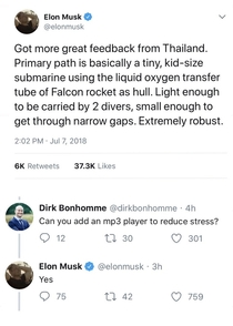 Elon solving the real problems