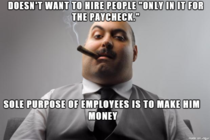 Employers lets cut the crap