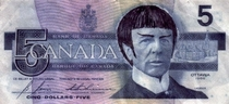 England may have Winehouse money and American may have Snooki money but Canadian bills are a little more logical
