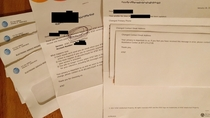 Enrolled in paperless billing with ATampT Naturally they immediately sent me four letters