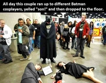 Epic cosplayer trolling