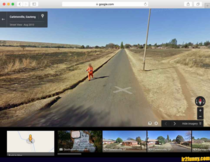 Escaping prison Make sure the Google Car doesnt spot you
