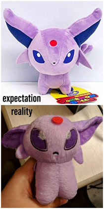 Espeon plush I ordered online