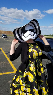 Even a Stormtrooper likes to feel pretty