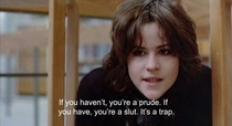 Even goth  Ally Sheedy knew the score